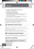 Remington S8670 - S8670 mode d'emploi - Page 4