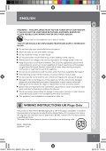 Remington S8670 - S8670 mode d'emploi - Page 5