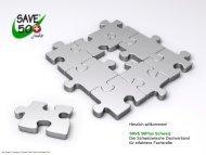 SAVE 50Plus Schweiz Image-Broschüre 2014/15