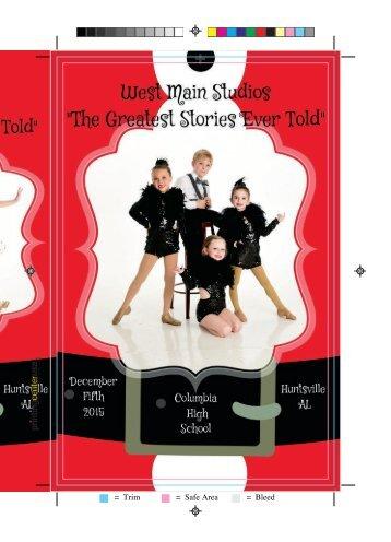 Christmas Show Program Book 2015