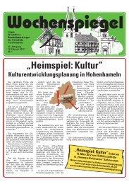 Ausgabe 7/2012 - in der Gemeinde Hohenhameln