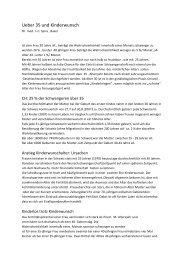 Ueber 35 und Kinderwunsch - Kinderwunschzentrum Basel