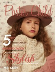 Poster Child Magazine, Fall 2016