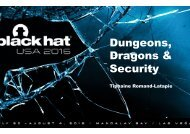 Dungeons Dragons & Security