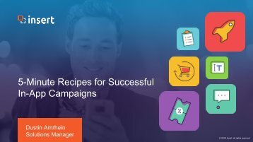 5 Minutes Recipes for Successful In App Campaigns