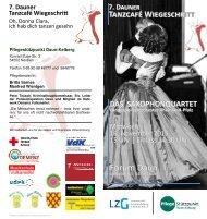 Tanzcafe Wiegeschritt 2016