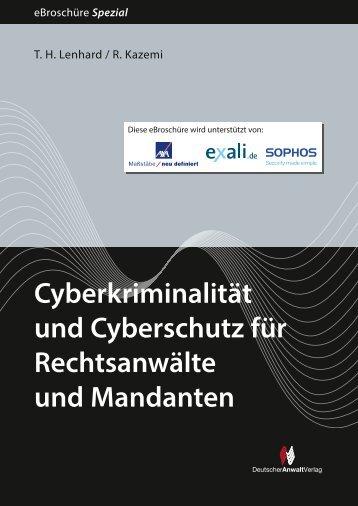 Cyberkriminalität und Cyberschutz für Rechtsanwälte und Mandanten