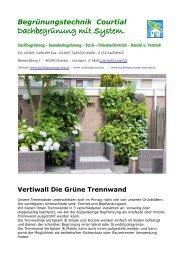 Vertiplant Grüne Wände 2016