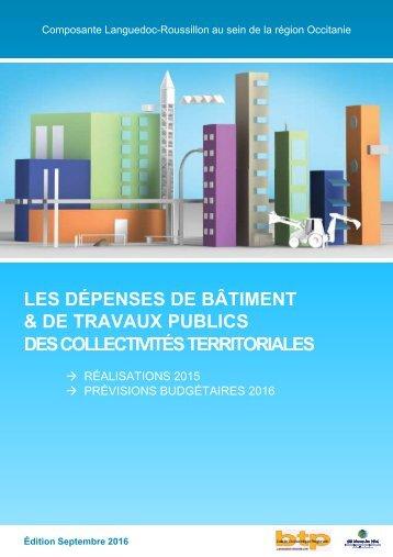 & DE TRAVAUX PUBLICS DES COLLECTIVITÉS TERRITORIALES