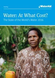 Water At What Cost?