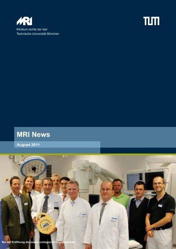 MRI News - Klinikum rechts der Isar - TUM