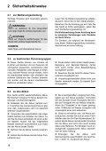 Dirt Devil Verso - Bedienungsanleitung Dirt Devil  Verso Nass/Trocken Handstaubsauger M410 - Page 4