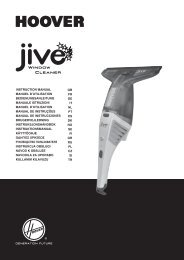 Hoover JWC60B6 011 - JWC60B6 011 mode d'emploi