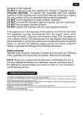 Hoover JWC60B6 011 - JWC60B6 011 mode d'emploi - Page 7