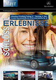 Hauszeitung Firma Mayr Mercedes Benz Friedberg