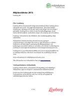Miljöberättelse 2015 - Page 2