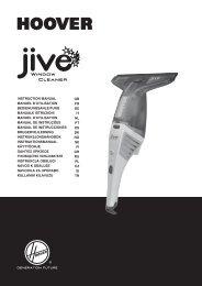 Hoover JWC48B6 011 - JWC48B6 011 mode d'emploi