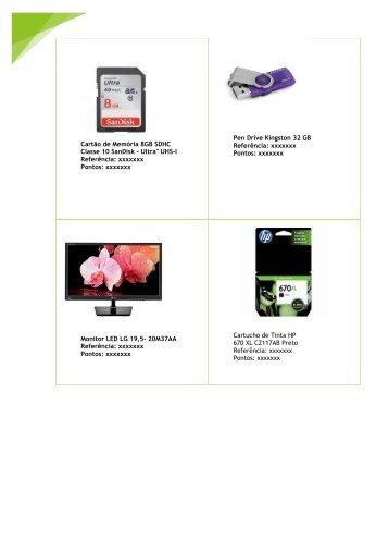 Cartão de Memória 8GB SDHC