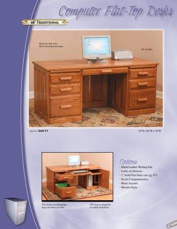 Computer Flat To Desks