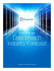 Data Breach Industry Forecast