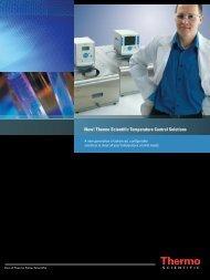 New! Thermo Scientific Temperature Control Solutions