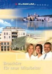 Broschüre für neue Mitarbeiter - Klinikum Passau