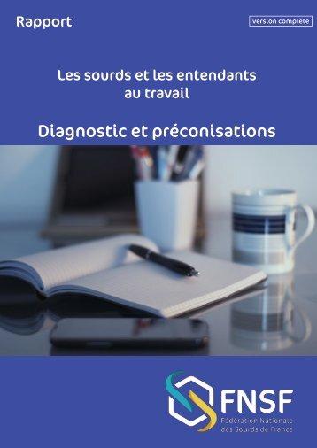 Diagnostic et préconisations