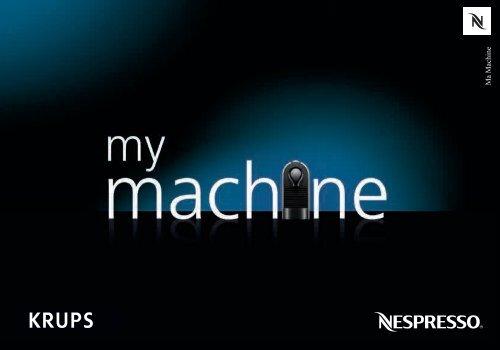 Krups Nespresso U Soft Touch YY1302FD - mode d'emploi
