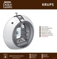 Krups YY2001 - mode d'emploi