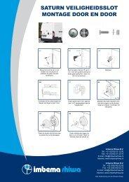 saturn veiligheidsslot montage door en door - Imbema Groep