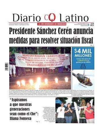Edición 11 de Octubre de 2016