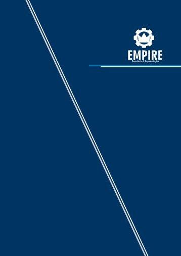 catalogo apresentação Empire