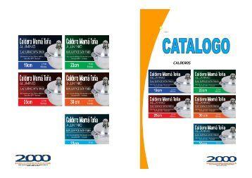 catalogo calderos