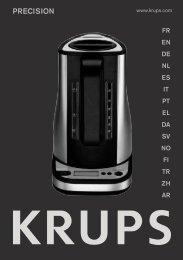 Krups Bouilloire électronique YY8301 - mode d'emploi