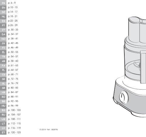 moulinex robot multifonction moulinex fp662g25 masterchef 8000