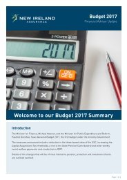Welcome to our Budget 2017 Summary