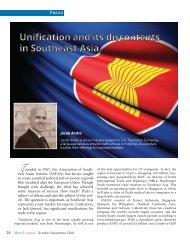 Unification and its discontents in Southeast Asia