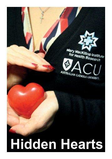 Hidden Hearts Cardiovascular Risk and Disease in Australian Women