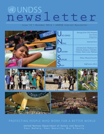 UNDSS+Newsletter+2016+October