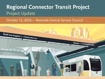 Regional Connector Transit Project