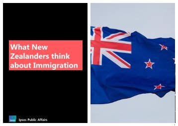 Zealanders think about Immigration