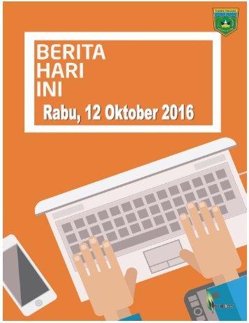 e-Kliping Rabu, 12 Oktober 2016