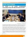 EL SNTE Y LA OCDE COORDINAN ACCIONES POR UNA MEJOR EDUCACIÓN - Page 2
