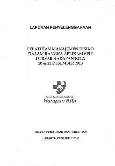 V 2 8 Laporan Sosialisasi Penyelenggaran Manajemen Risiko Spip