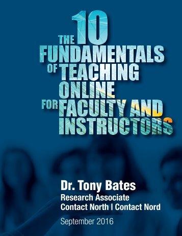 Dr Tony Bates