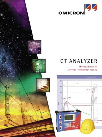 CT Analyzer Functionality - Test and Measurement Hire