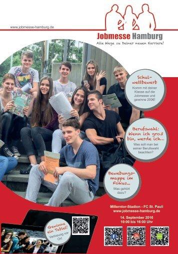 Jobmesse Hamburg - Messezeitschrift Herbst 2016