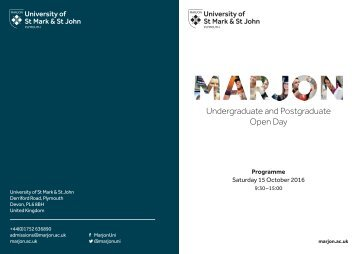Undergraduate and Postgraduate Open Day