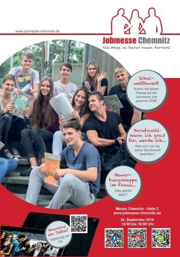 Jobmesse Chemnitz - Messezeitschrift Herbst 2016