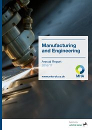 Manufacturing and Engineering